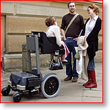 one of Dragonmobility's powerchairs